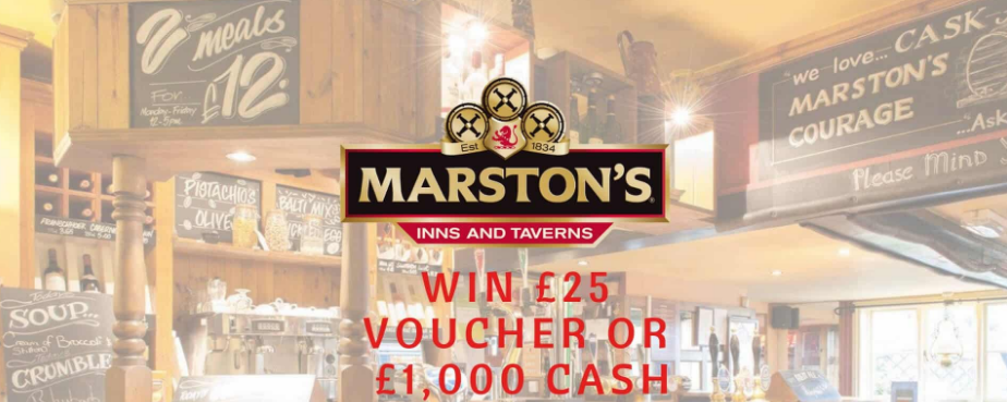 Marston's Inns and Taverns Rewards
