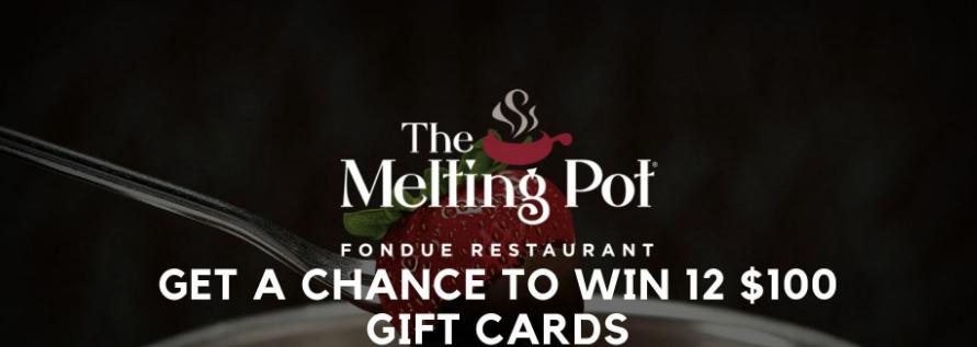 Melting Pot Fondue Rewards