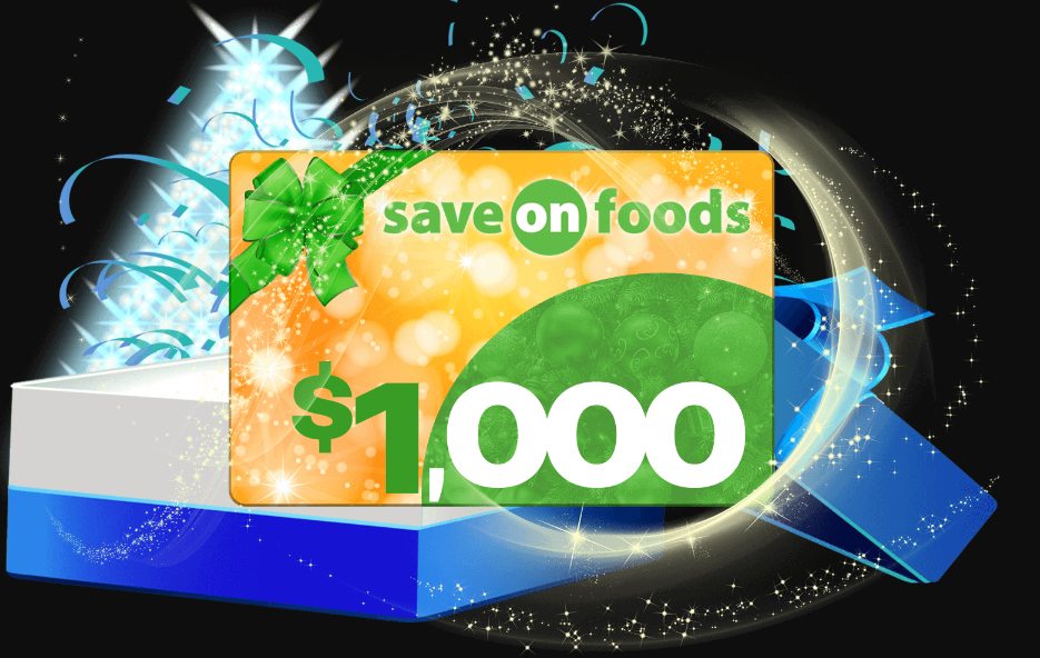 Overwaitea Foods Survey - $1,000 Gift Card