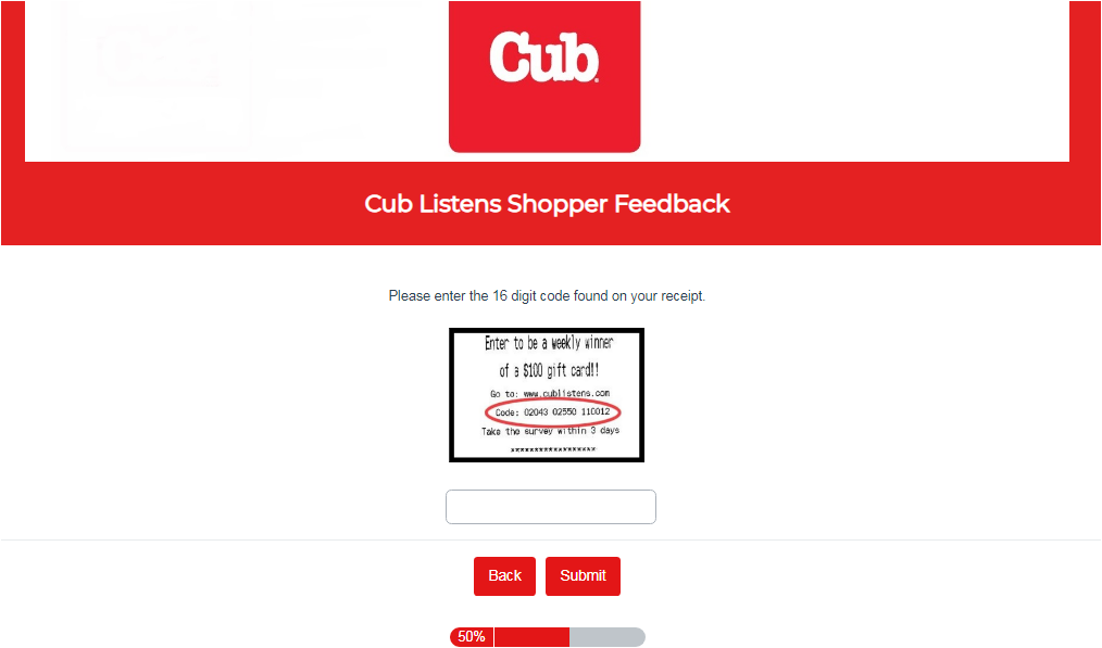 Cub Foods Listens Customer Survey