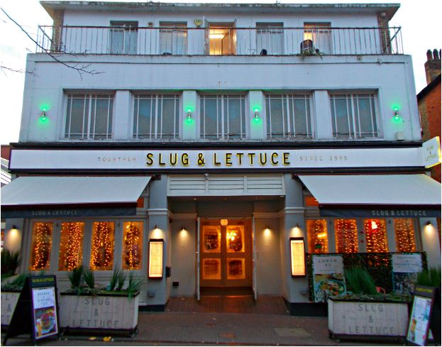 Slug & Lettuce Opinion Survey
