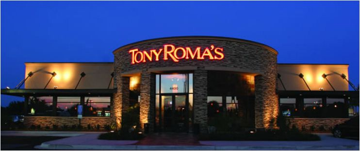 Tony Roma's Experience Survey